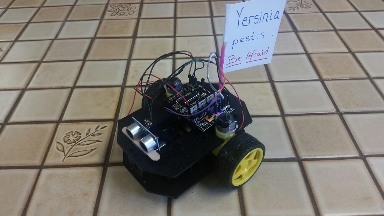 Cheap STEM Education Robot Project
