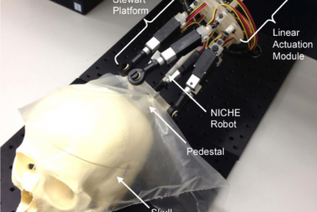 A Skull Mounted Robotic Head Frame for a Neurosurgical Robot