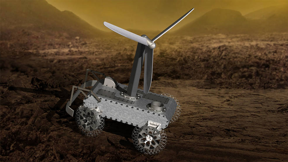 Exploring Hell. NASA Wants Your Help Designing a Venus Rover Concept
