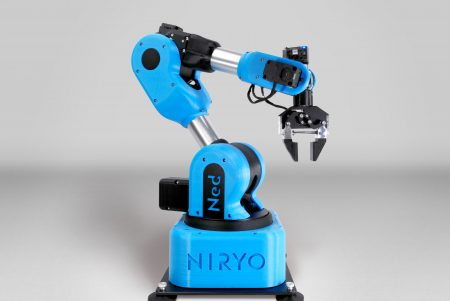 NED Robot a NEW - low cost 6-axis Cobot for Education, Vocational training & Research laboratories